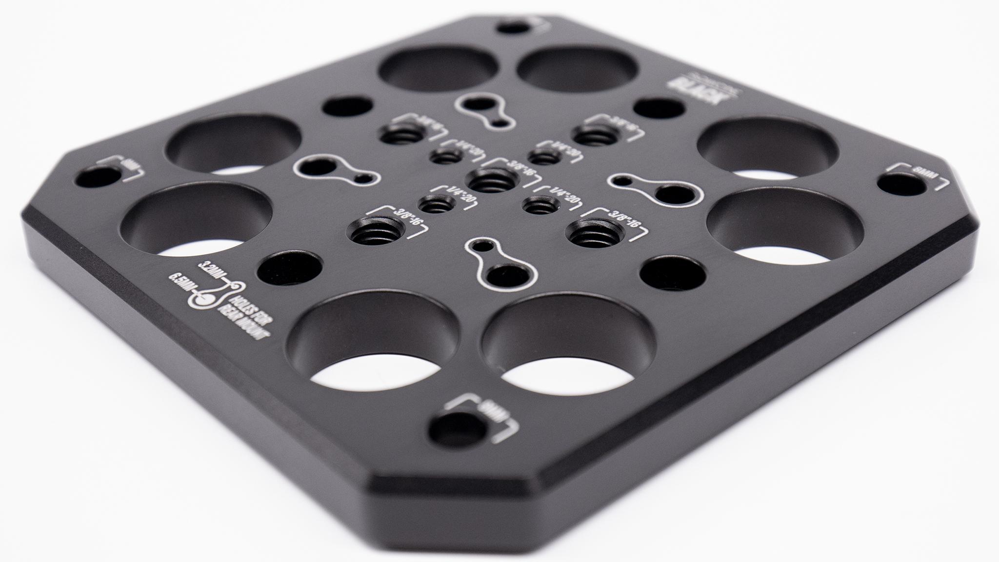 Black Mitchell Plate
